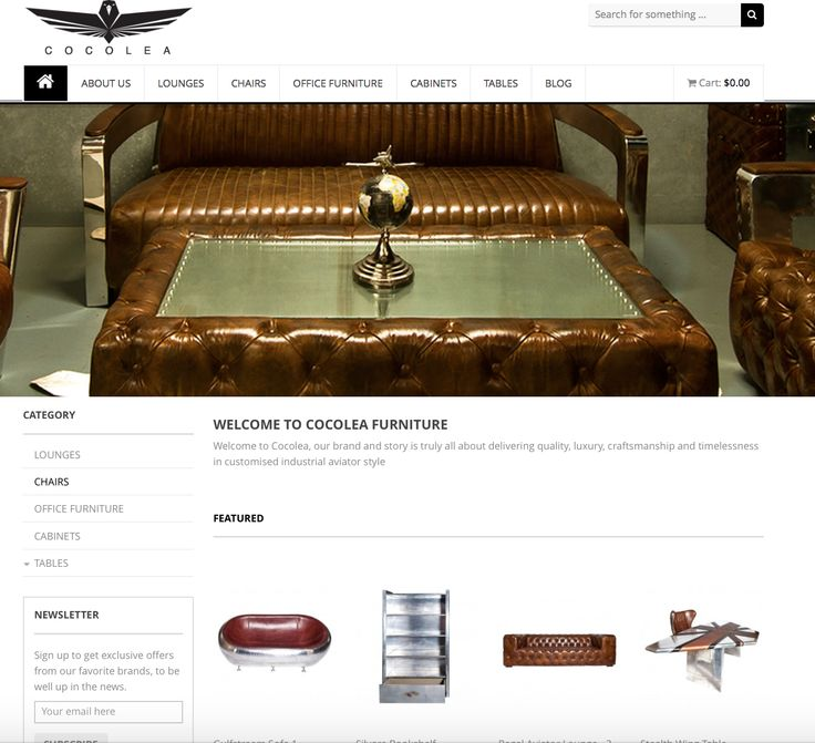 The new #Cocolea website is here! Check it out & share it with your friends #luxury #furniture #industrial #aviator #style www.cocolea.com.au