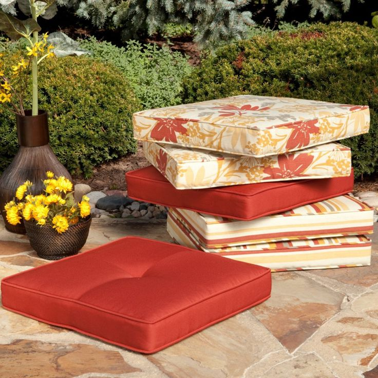 Depiction of Sunbrella Replacement Cushions Indoor and Outdoor Functions