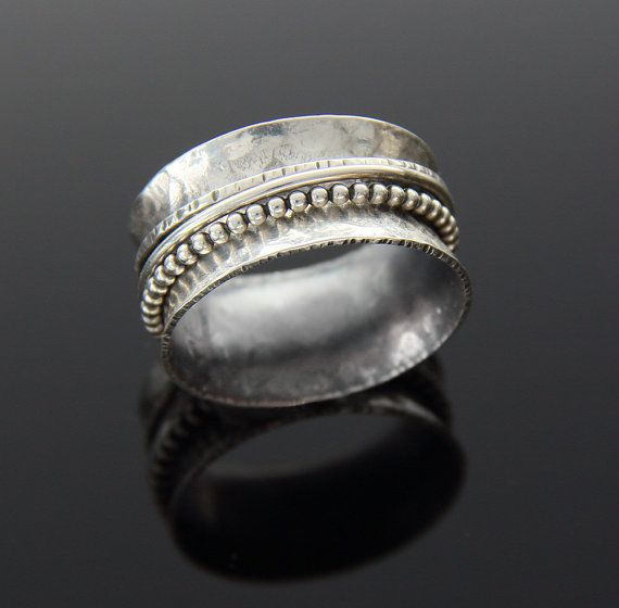 Sterling Silver Spinner Ring by katkramer on Etsy, $68.00