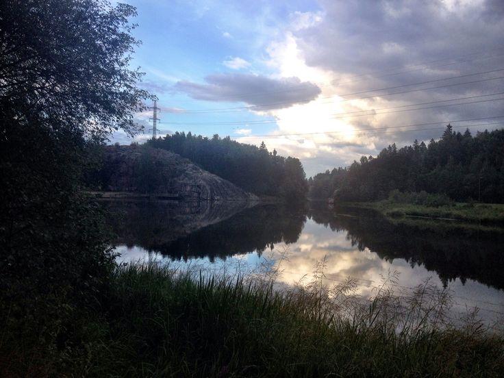 Pikkukoski on Vantaa River
