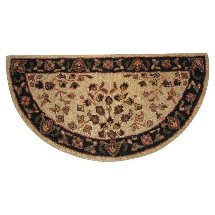 handtufted wool hearth rug r1000 - Hearth Rug