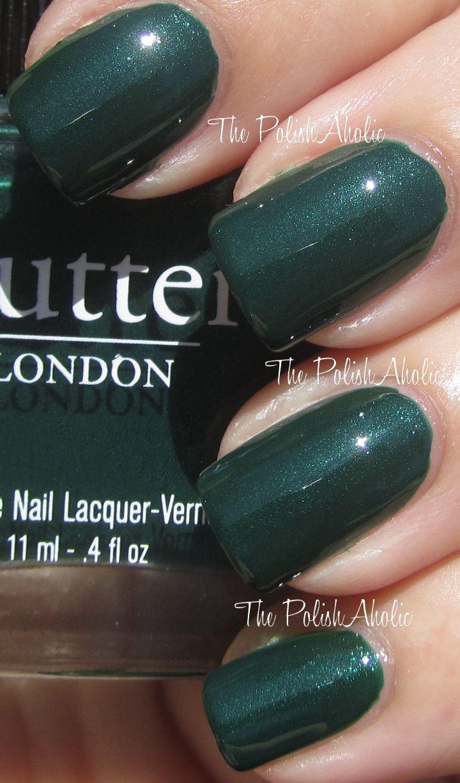Star dust nail lacquer guerlain 25 - Butter London British Racing Green