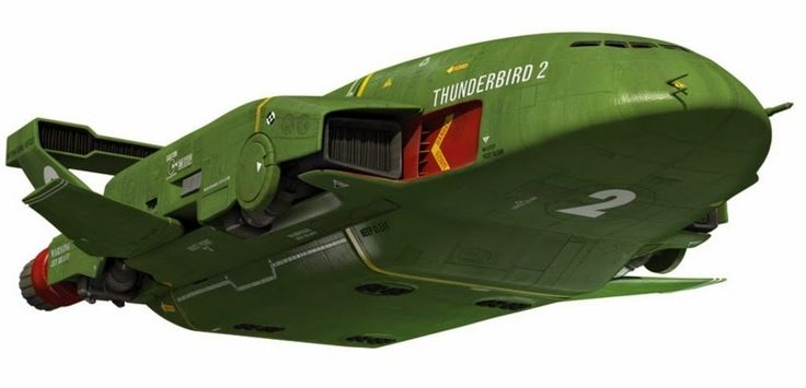 New Thunderbirds Are Go 2015 Images! Thunderbird 2