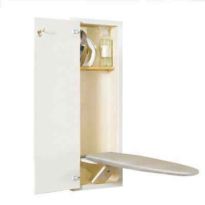 Hide-Away White Ironing Board - super convienent!
