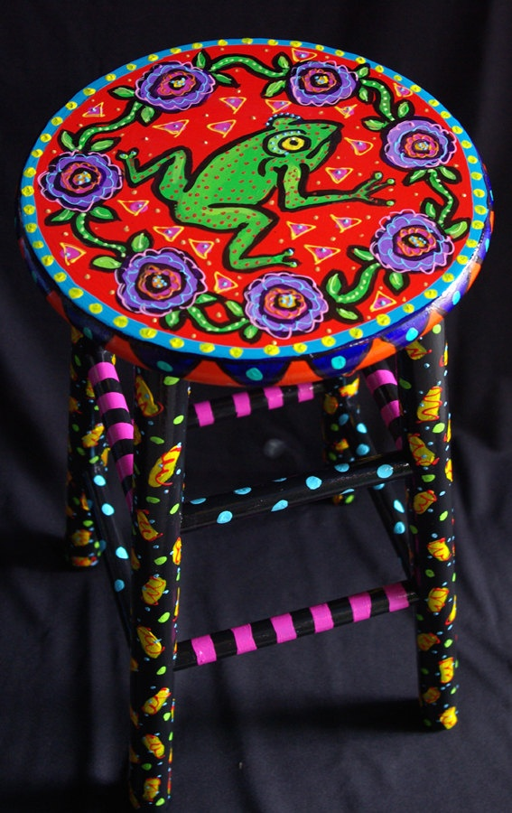 Best 20 Hand painted stools ideas on Pinterest  Painted
