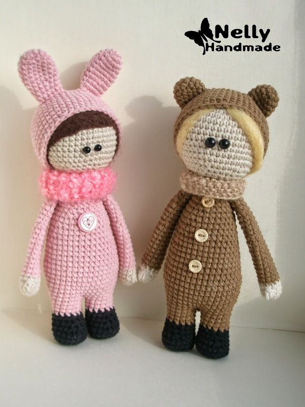 como amarrar uma descrição esquema de boneca de crochê