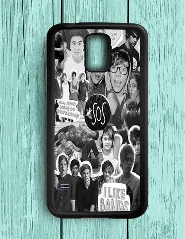 5 Second Of Summer Collage 5 SOS Art Music Samsung Galaxy S5 | Samsung S5 Case