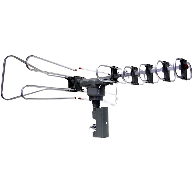 Supersonic - Outdoor HDTV Antenna - Black, SC603