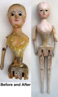 Interesting Antique Textiles: 'Old Pretender Dolls', 17th & 18th century Antique Doll Restoration