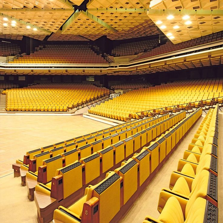 In a 5,000-seat auditorium the East German government could stage official...
