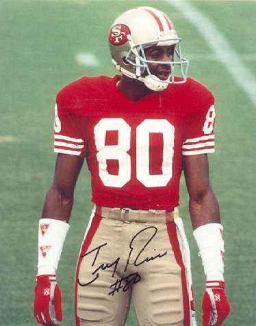 Jerry Rice Greatest WR of all time 49ers (1985-2000)