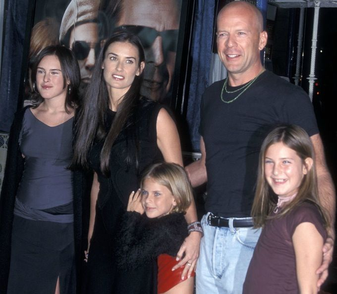 Bruce Willis Demi Moore kids