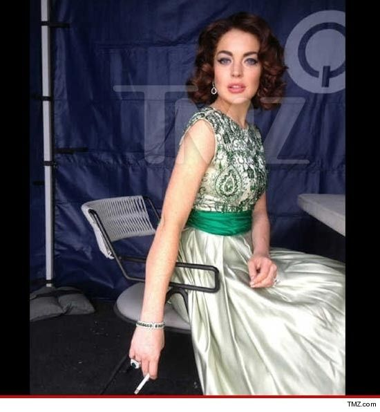 lindsay lohan as elizabeth taylor: Elizabeth Taylors, Cute Ideas, Elizabethtaylor, Beautiful, Dresses, Lindsay Lohan, Costume, Photo, Liz Taylors