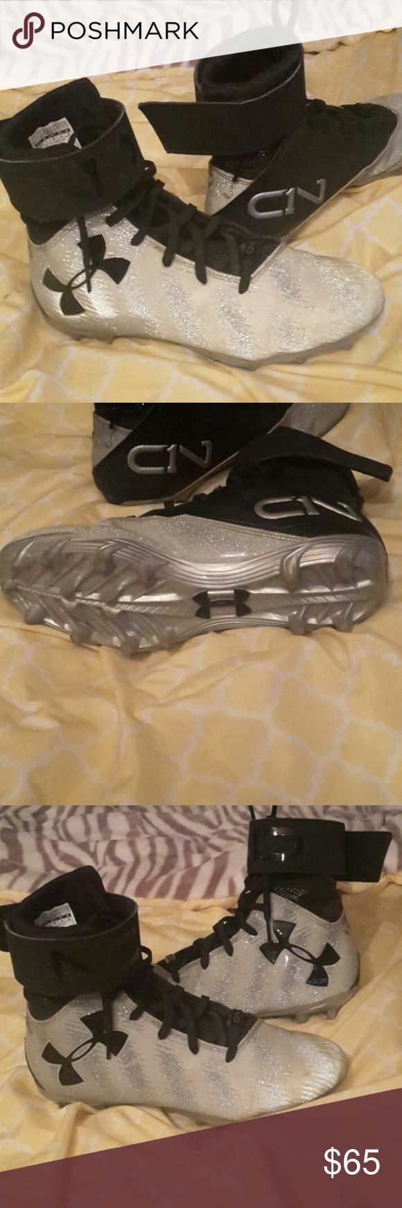 Under Amour Cleats by Cam Newton Excellent condition Under Armour Shoes Sneakers
