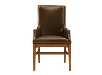 $379 Maxwell Street Leather Captain's Chair