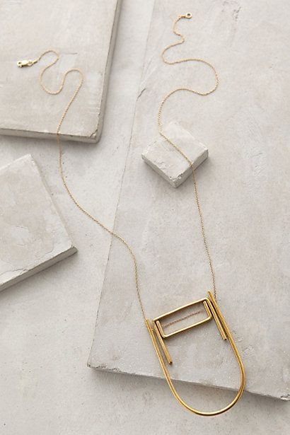 Meja Pendant Necklace #anthropologie #anthrofave