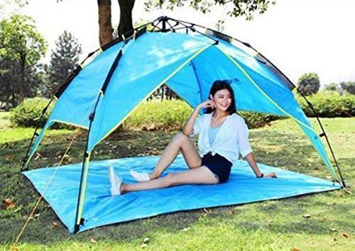 Lightweight Waterproof Beach Mat has Lightweight Waterproof Beach Mat, Tent Tarp, Picnic Blanket! greatgirlsgifts.com