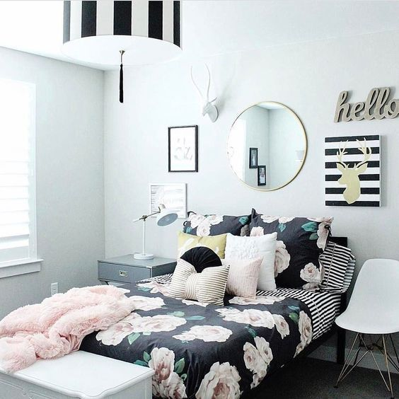 Cute bedroom decor for teen girls. Pick one cute bedroom style for teen girls, m…