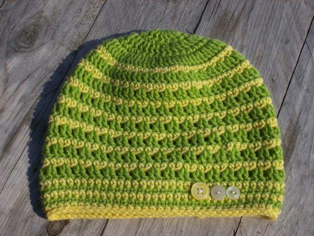 Zeleno žlutá s knoflíky