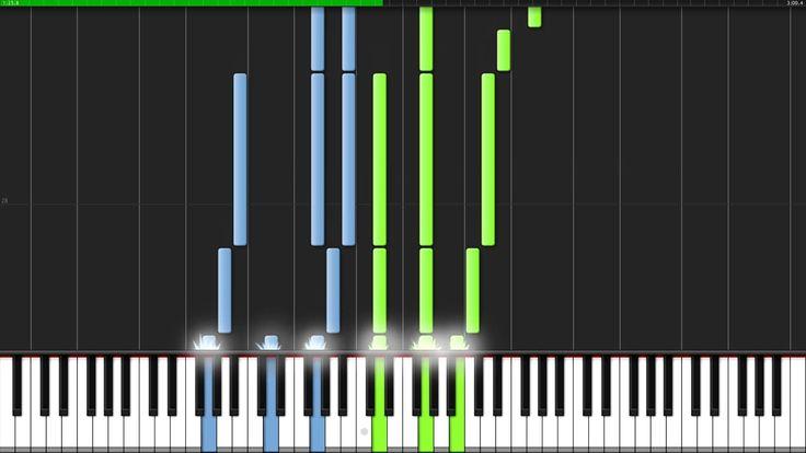 Imagine - John Lennon [Piano Tutorial] (Synthesia)