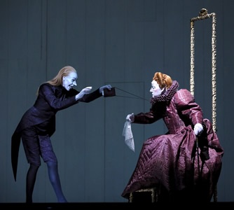 Robert Wilson's theatre play 'Shakespeares Sonette' at the Berlin Ensemble, Germany.