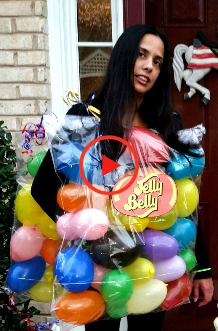 DIY Jelly Bean Costume This Cute Halloween Costume Is