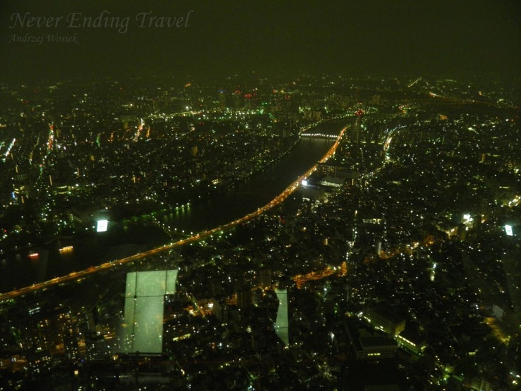 view from the sky tree  photo made by Andrzej Wosiek