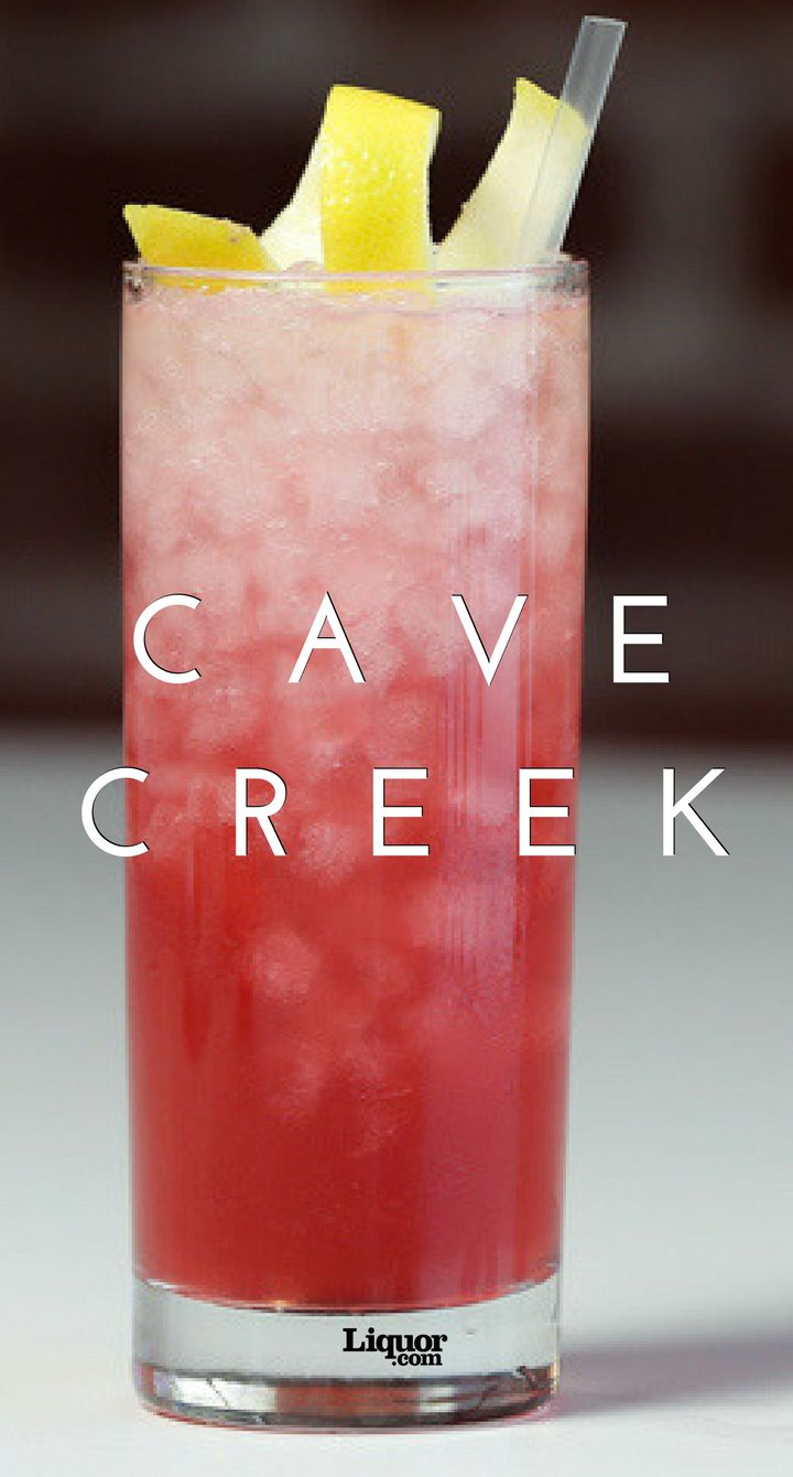 The Cave Creek cocktail is made with New York Distilling Company's Rock & Rye—a bottled combination of rye whiskey, sugar and citrus that was all the rage in the 19th century, when it was made with rock candy.