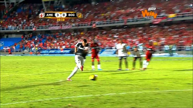 América de Cali 5 - 0 Bogotá FC - Torneo Postobón 2014 I - Fecha 5 - Win...