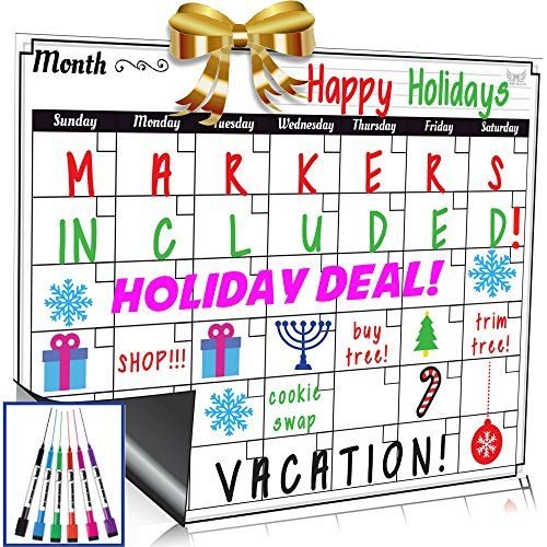 Welcome to my pros and cons consumer reports of the Dry Erase Monthly Calendar Set / Large Magnetic White Board & Grocery List Organizer For Kitchen Refrigerator / Best For Smart Planners . My intent in this review will  be to assist you as much as possible come to a decision whether or...