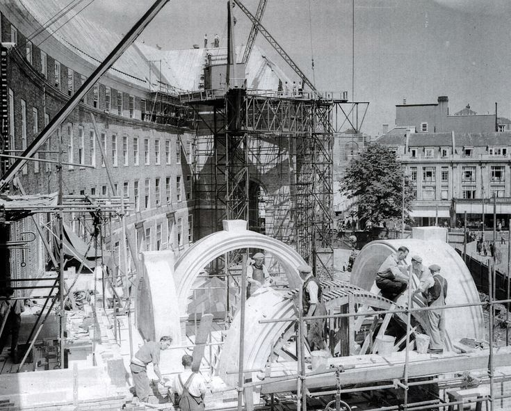 1950s Council House construction, Bristol BS1 | by brizzle born and bred