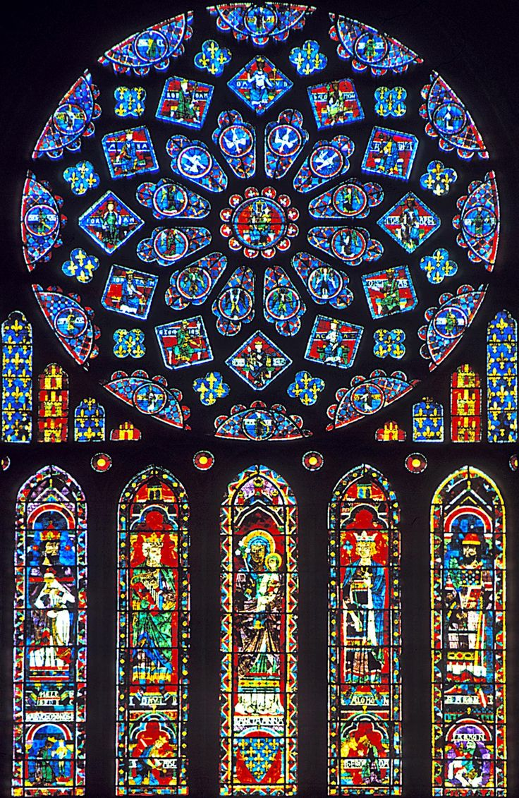 Church Stained Glass : Church windows are called