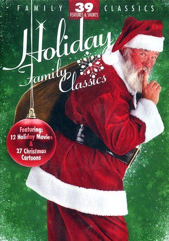 Holiday Family Classics: 39 Features & Shorts (4-DVD) (2010) Starring Jimmy Durante, Fred Gwynne & John Houseman; Mill Creek Entertainment | OLDIES.com