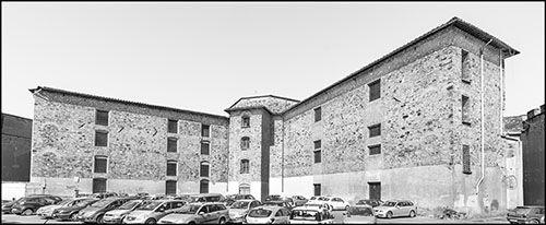 Il carcere delle Murate a Firenze. Qui furono rinchiusi don Pietro e i manutengoli condannati dai tribunali toscani
