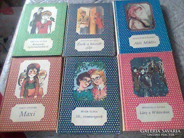 Pöttyös könyvek (ifjúsági regények) (80's)