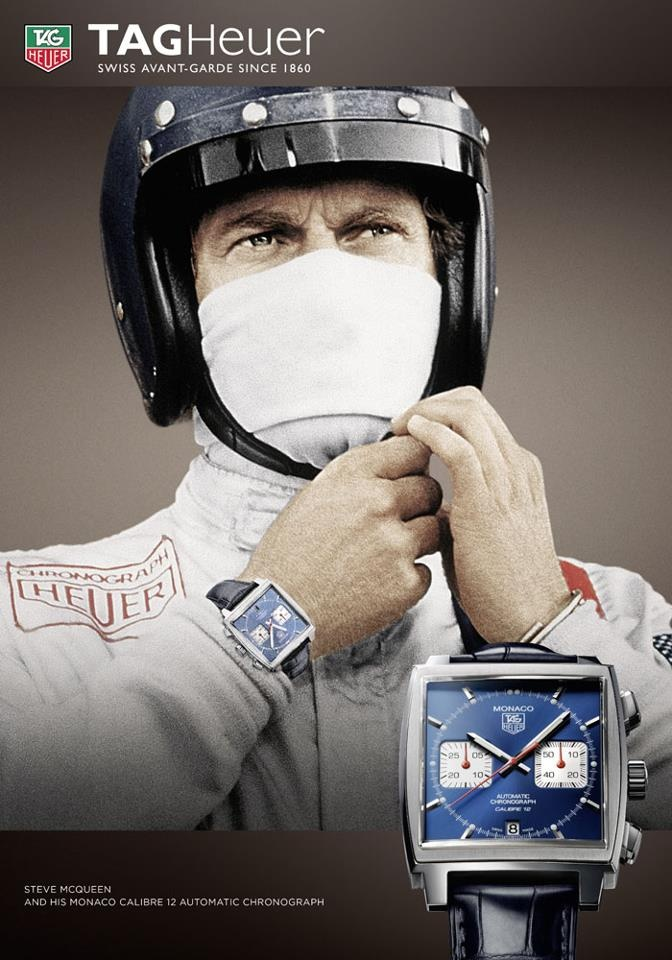 Steve McQueen's Tag Heuer Monaco just became the most expensive Hollywood watch sold at auction.