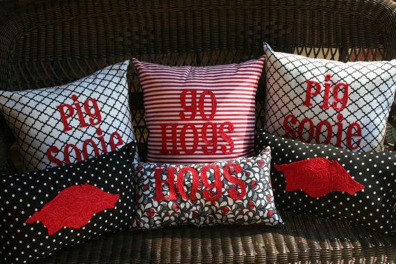 Hog pillows- love!