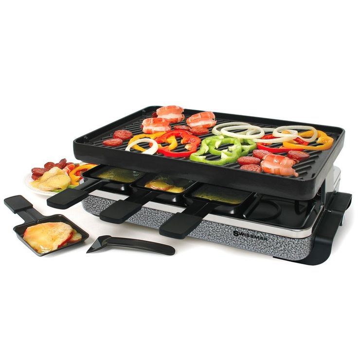 12 best raclette grills images on pinterest raclette party grills and grill plate. Black Bedroom Furniture Sets. Home Design Ideas