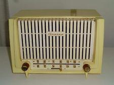 Vintage Granco Yellow & White Plastic Tube Radio – Anne Grimes