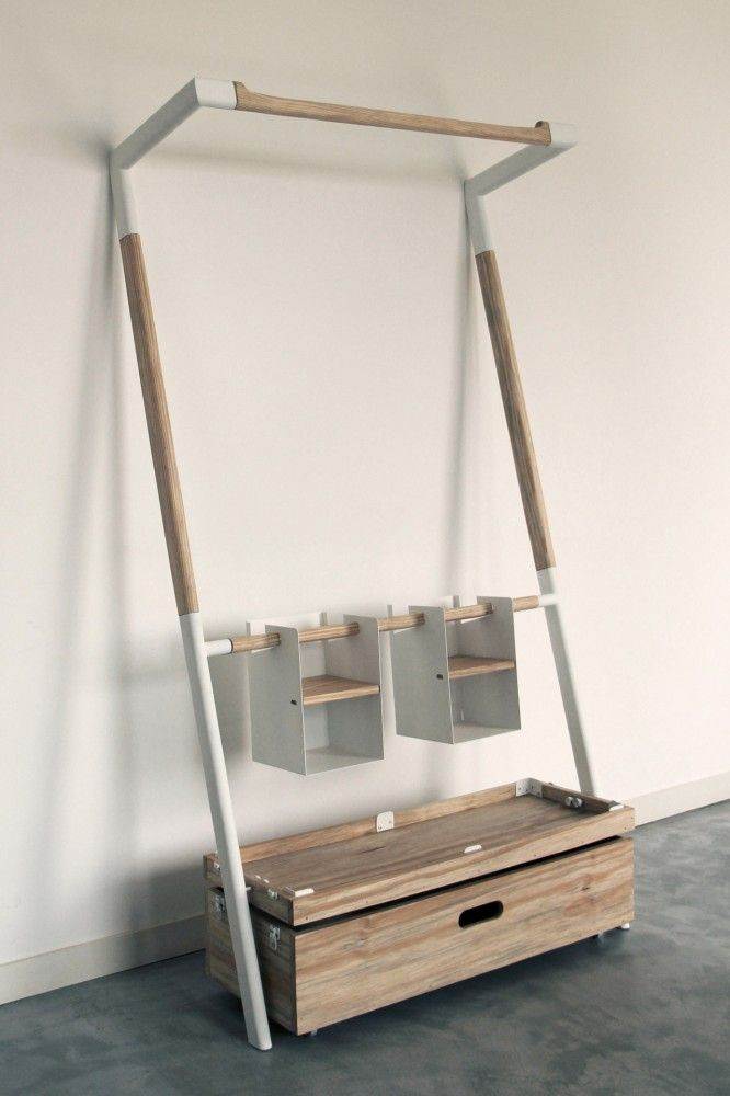design wooden storage Ingenious Storage Unit For Just About Anything: Arara Nômade