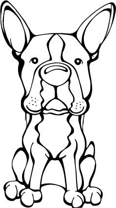 Do you love your Boston Terrier? Then a dog decal from Decal Dogs is what you need to celebrate your best friend. Every Dog Has Its Decal! The decal measures 4 in. x 6 in. and can be applied to most s