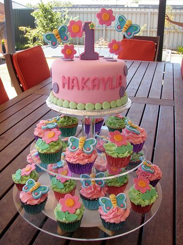 100+ ideas to try about Girls First birthday cake ...