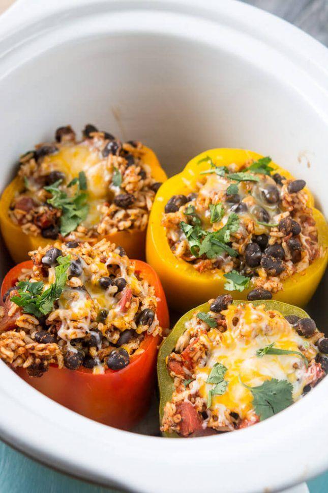 17 Vegetarian Slow Cooker Meals to Make Your #MeatlessMonday a Breeze via Brit + Co