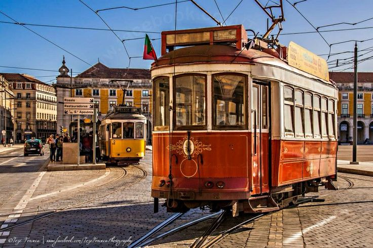 Visiting sunny #Lisbon old districts by tram. Love #Portugal by TozéFonsecaPhotography