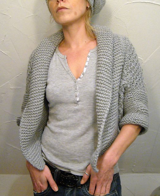 Muse N. Shrug By Isabell Kraemer - Free Knitted Pattern - (ravelry)