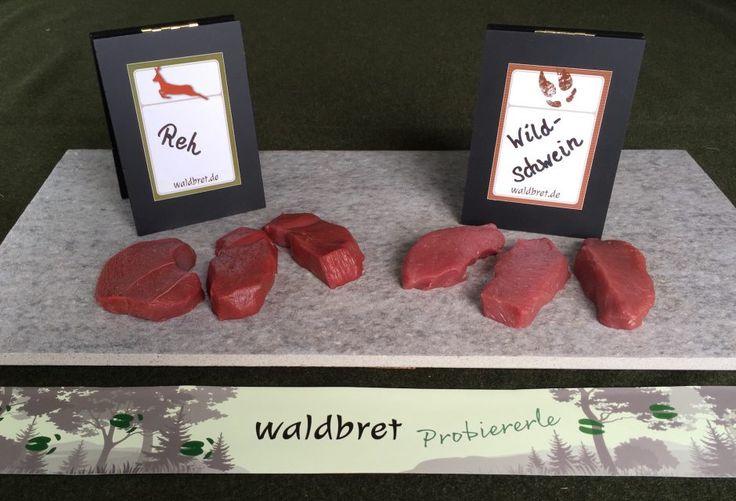 waldbret Probiererle #Wildbret #Wildfleisch #Rehfleisch #Wildschweinfleisch #Rehmedaillons #Wildschweinfilet #Wildschweinmedaillons #Rehfilet