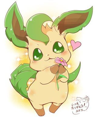 how to get a leafeon in pokemon sun
