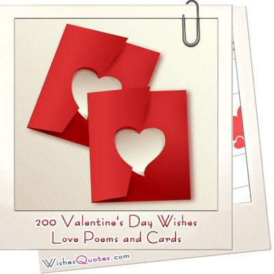 200 Valentineu0027s Day Wishes, Heartfelt Love Poems U0026 Romantic Cards