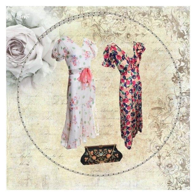 """1930s dresses - timeless ❤️"" by christina-63 on Polyvore"