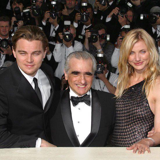 Pin for Later: Retour Sur Les Moments Les Plus Glamour du Festival de Cannes Leonardo DiCaprio, Cameron Diaz et Martin Scorsese à l'avant première de Gangs of New York en 2002.